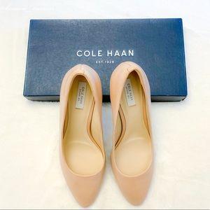 NWOT Cole Haan Grace Grand Pump Nude Heels Sz 6.5